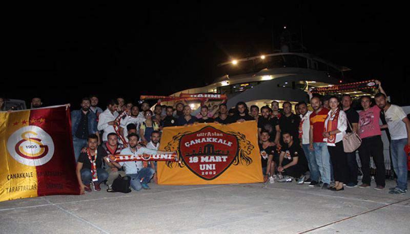 Galatasaray Taraftarlar Derneğinden boğazda iftar