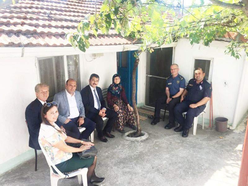 Kaymakam'dan Şehit ve Gazi Ailelerine Ziyaret