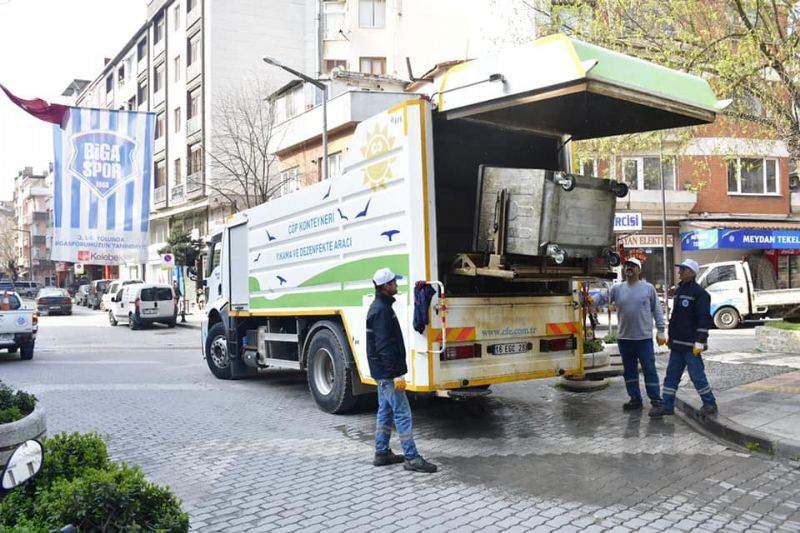 Biga Belediyesi Koranavirüs'le Mücadelede Verilerini Paylaştı