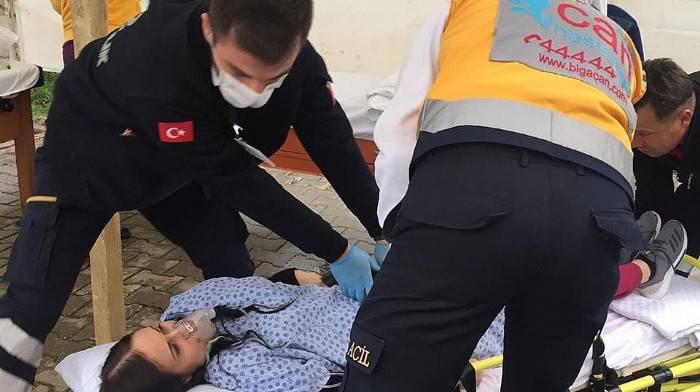 """ÖZEL BİGA CAN HASTANESİ'NDEKİ 'YANGIN TATBİKATI"""" GERÇEĞİ ARATMADI"""