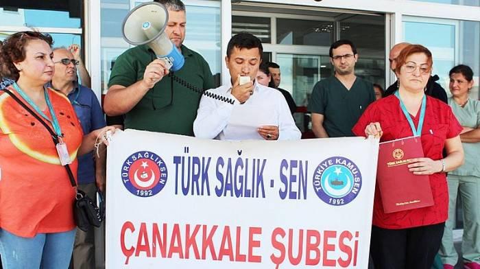 """""""ADİL BİR ÇALIŞMA ORTAMI İSTİYORUZ"""""""