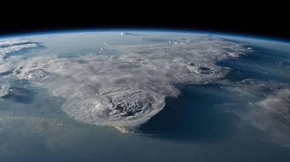 NASA yayınladı! Felaket tek karede