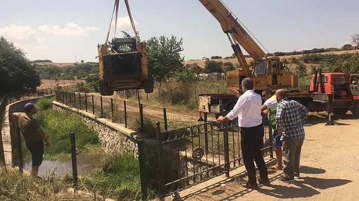 Başkan Elbi, Koyun Dede Deresi Islah Çalışmalarını İnceledi