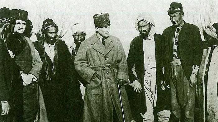 Atatürk'ün 78.ölüm yıl dönümünde ilk kez ortaya çıkan fotoğraflar