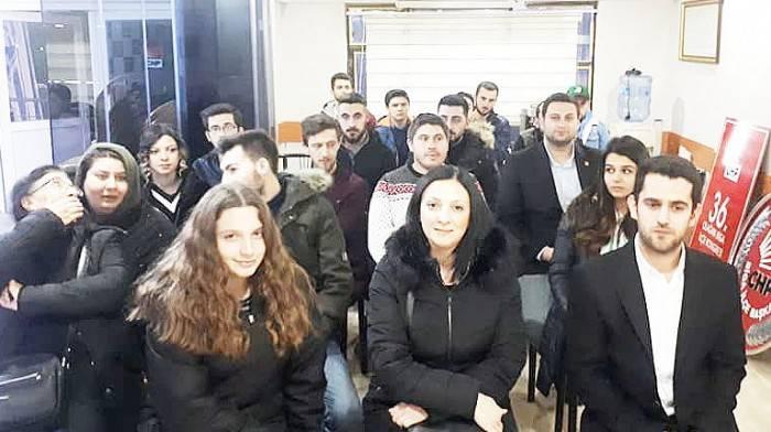 CHP GENÇLİK KOLLARI KONGRESİ YAPILDI