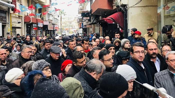GÜNEŞHAN'A, ÖZTÜRK DESTEĞİ!