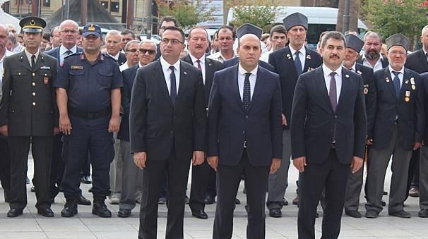 Biga'da, 19 Eylül Gaziler Günü kutlandı.