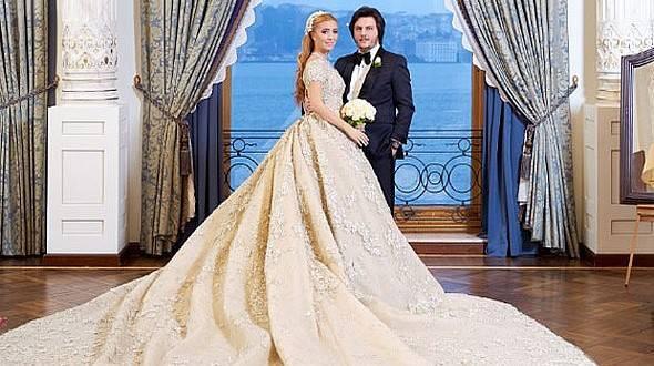 Ali Ağaoğlu'nun kızı Sena, Koray Kırcal'la evlendi... İşte düğünden fotoğraflar