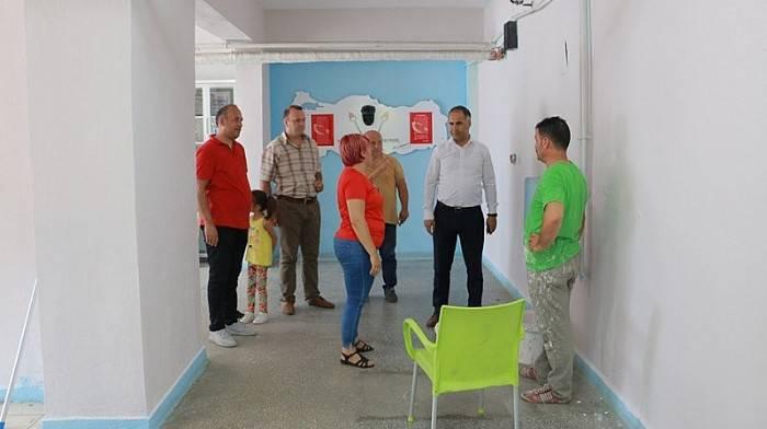 İlçe Milli Eğitim Müdürü Erkan Bilen, Okullarda İncelemede Bulundu