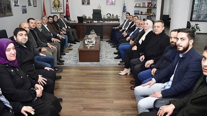 AK PARTİ İL BAŞKANI MAKAS'TAN BAŞKAN ERDOĞAN'A ZİYARET