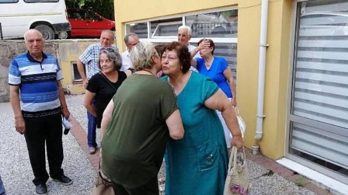 AYVACIK'TA, İLKOKUL ARKADAŞLARI 58 YIL SONRA BULUŞTU