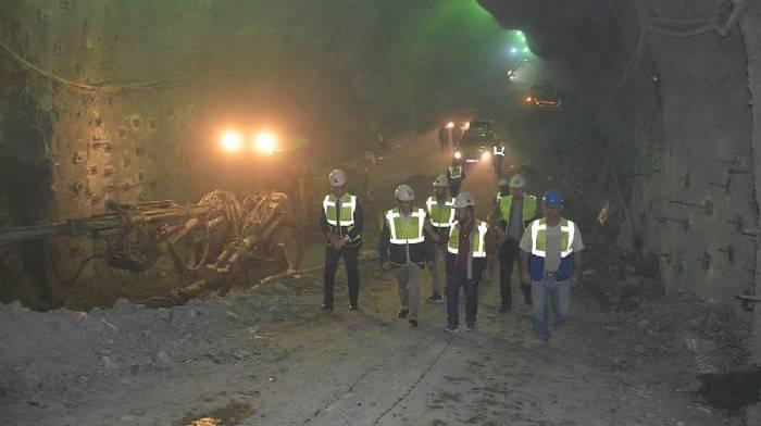 Ayvacık tünellerinde çalışma sürüyor