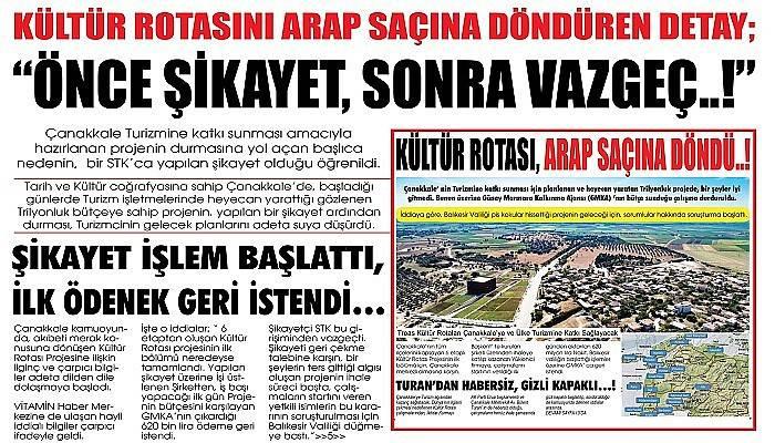 """""""ÖNCE ŞİKAYET, SONRA VAZGEÇ..!"""""""