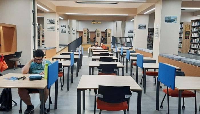 Sınavlar bitti kütüphanelere talep azaldı
