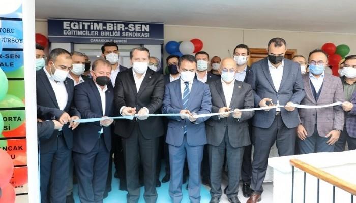 Eğitim-Bir-Sen hizmet binası törenle açıldı
