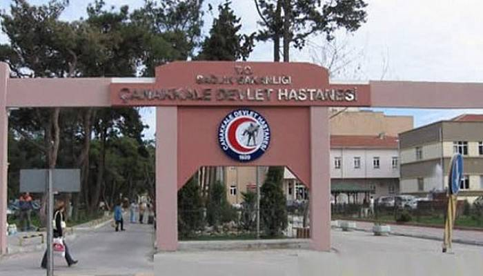 Çanakkale'de tedavi gördüğü hastanede intihar etti (VİDEO)