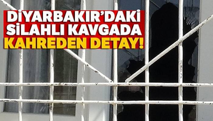 Diyarbakır'daki silahlı kavgada kahreden detay