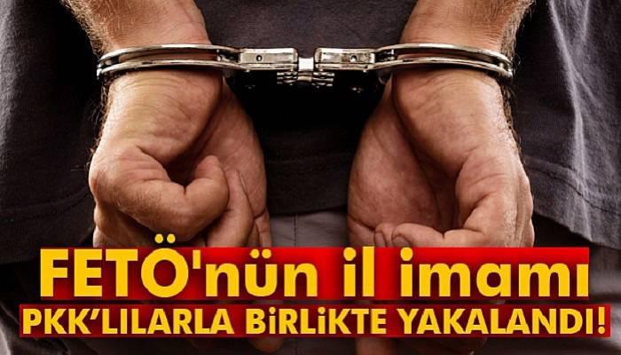 FETÖ'nün il imamı PKK'lılarla birlikte yakalandı
