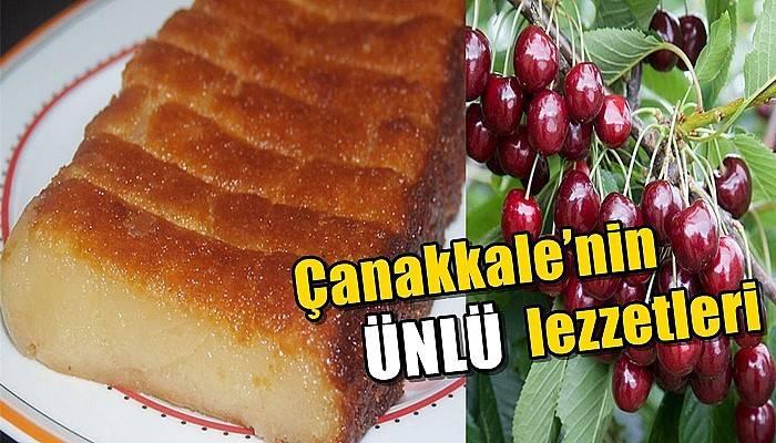 Çanakkale'nin ünlü lezzetleri