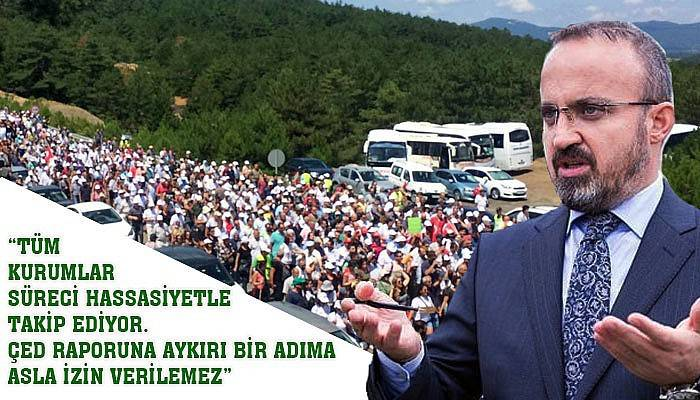Turan; maden sahası Kazdağları'nda değil!