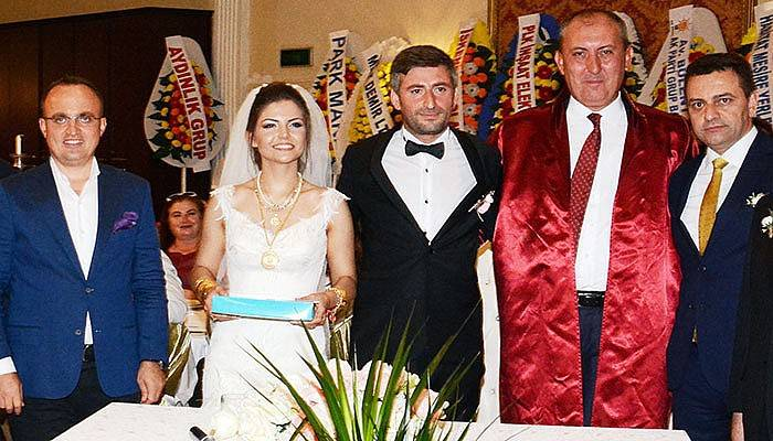 Turan, nikah şahidi oldu