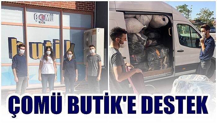 ÇOMÜ Butik'e Destek