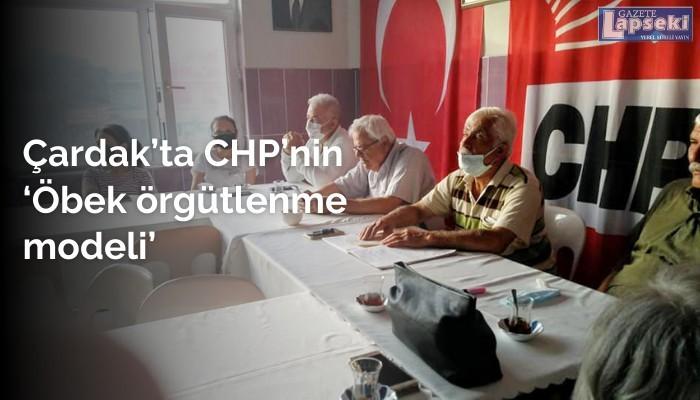 Çardak'ta CHP'nin 'Öbek örgütlenme modeli'