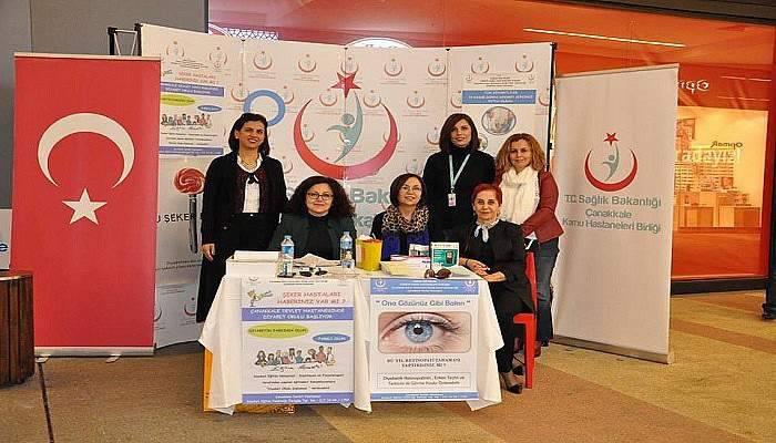 Çanakkale Kamu Hastaneleri Birliği Diyabet Günü Etkinlikleri