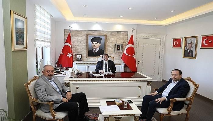Orhan Tavlı STK Başkanları ile görüştü