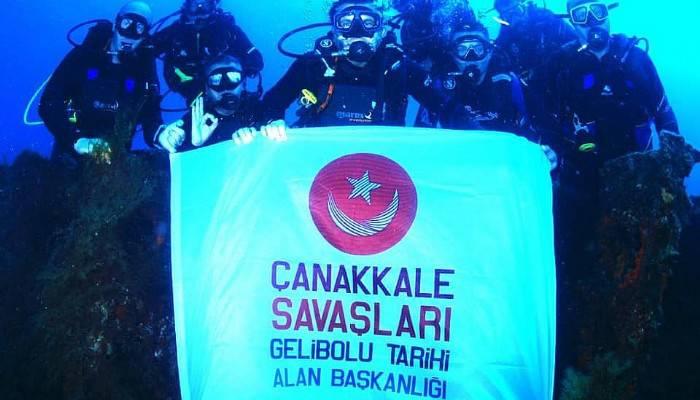 ''Dünya'nın en büyük dalış merkezlerinden birisi Çanakkale'de olacak''