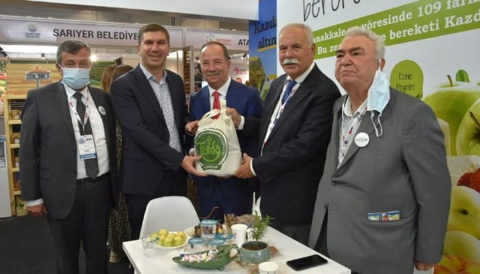 Başkan Gökhan Tarım Zirvesinde Yerel Kalkınma Projelerini Tanıttı