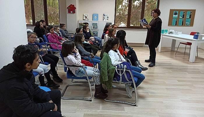 Çocuk Kültür Evi'nde Yazar Kılcıoğlu İle Söyleşi