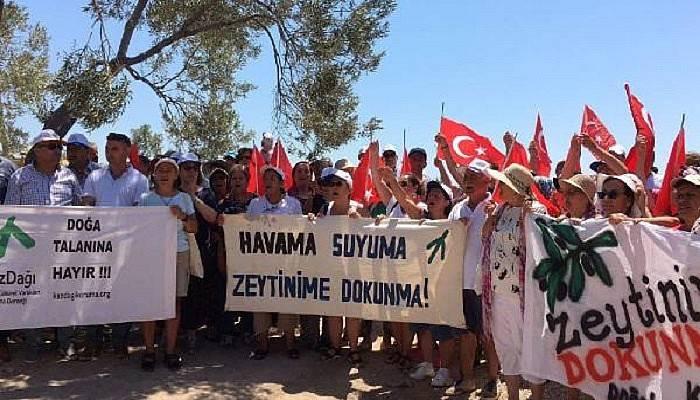 Kazdağı Doğa Koruma Ödülü jeotermal sondaja direnen köylülerin