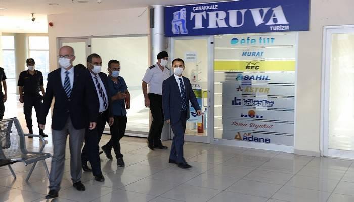 Çanakkale'de, 'Sağlık İçin Hepimiz İçin' mottolu koronavirüs denetimi