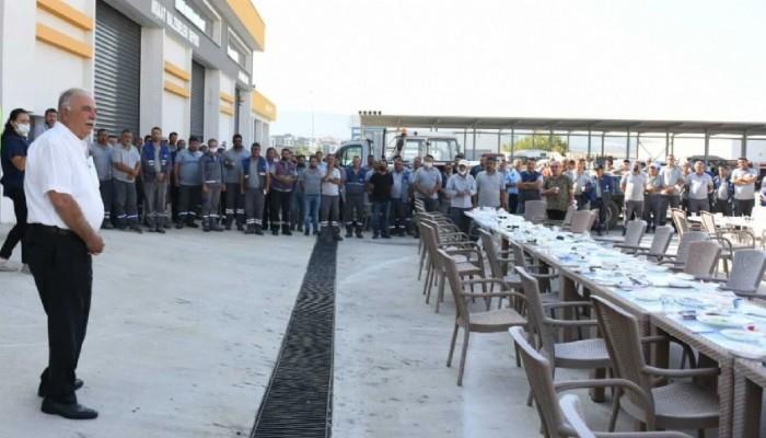 Başkan Gökhan Belediye Personeli İle bir Araya Geldi