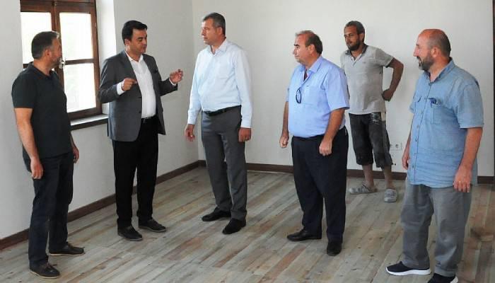Genel Sekreter Köklü, Karabiga'da incelemelerde bulundu