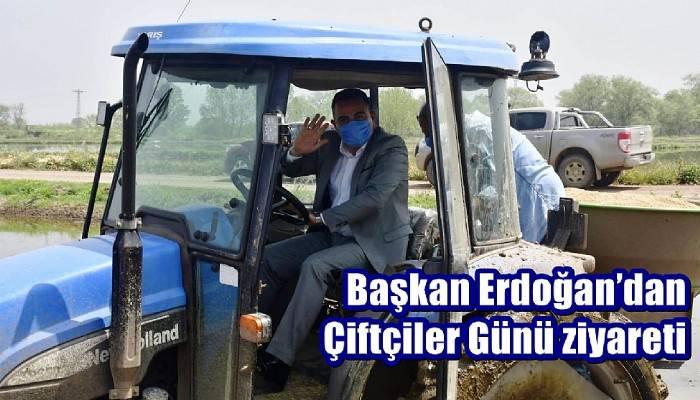 Başkan Erdoğan'dan Çiftçiler Günü ziyareti