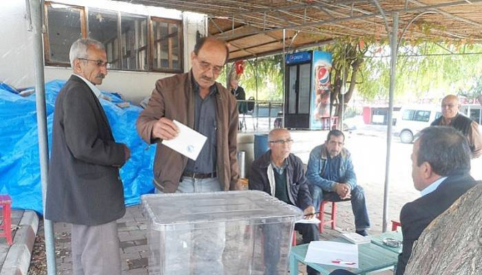 Köyde delege seçimi