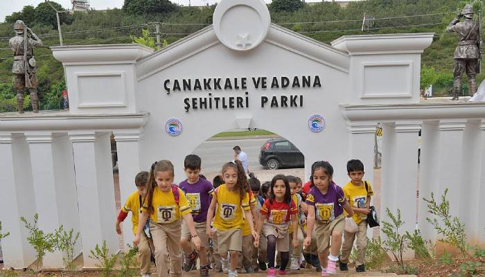 Çanakkale ve Adana Şehitleri Parkı dolup taşıyor