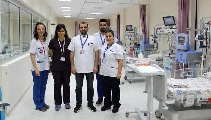 ÇOMÜ Tıp Fakültesi Hastanesi'nde, Çocuk Yoğun Bakım Ünitesi Hizmet Vermeye Başladı