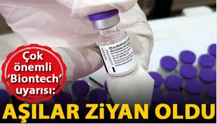 Prof. Dr. Tükek : Randevuya gelinmeyince Biontech aşıları ziyan oldu (VİDEO)