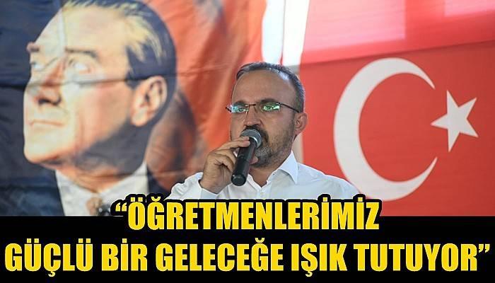 Ak Partili Turan'ın 24 Kasım Öğretmenler Günü mesajı