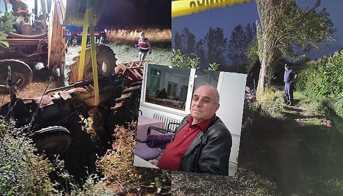 50 yıl önce babası, şimdi de oğlu aynı traktörün altında kalarak can verdi (VİDEO)