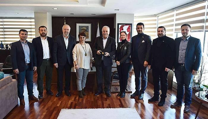 MÜSİAD Yönetiminden Başkan Gökhan'a Ziyaret
