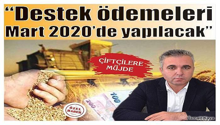 """""""Çanakkale'deki çiftçilerimize destek ödemeleri Mart 2020'de yapılacak"""""""