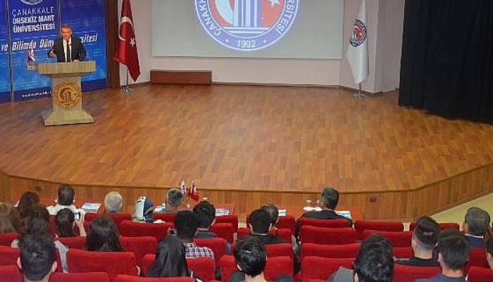 ÇOMÜ'de, 'Baltıklar'dan Mançurya'ya Rusya' konferansı düzenlendi