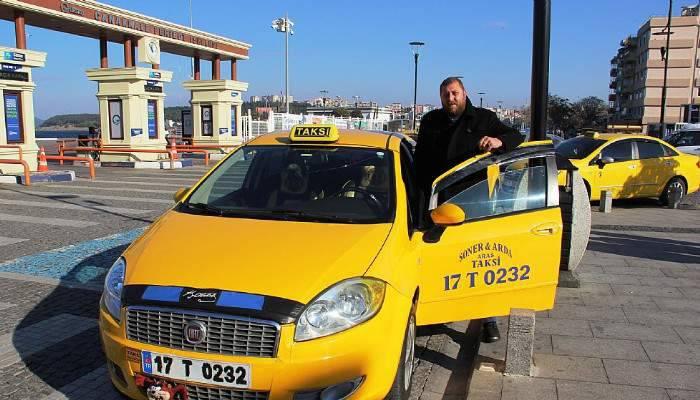 Bin dolar bozdurana bir ay ücretsiz taksi