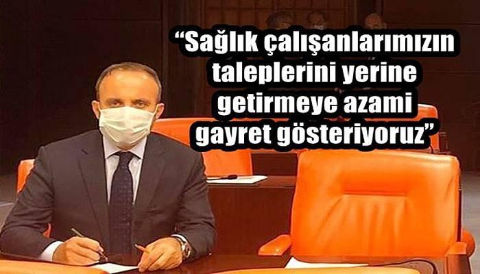 Turan kanun teklifi hakkında açıklama yaptı!