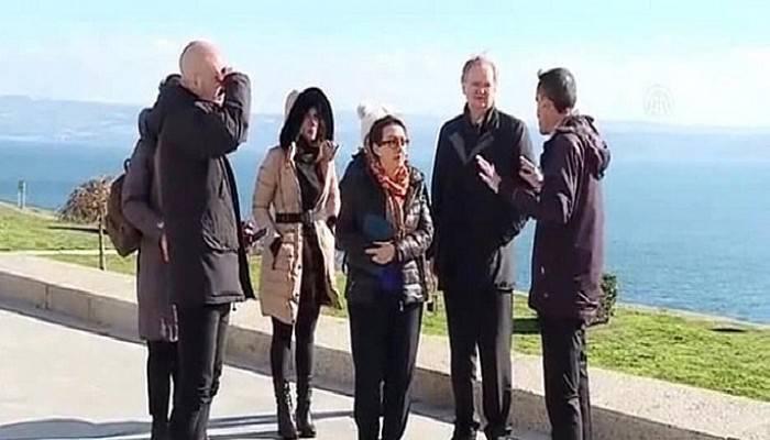 Berger Çanakkale'yi gezdi