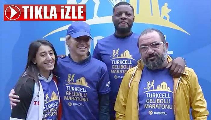 Ünlü isimler Gelibolu Maratonu'nda (VİDEO)